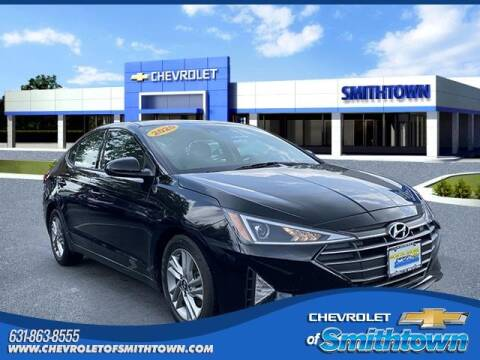 2020 Hyundai Elantra for sale at CHEVROLET OF SMITHTOWN in Saint James NY