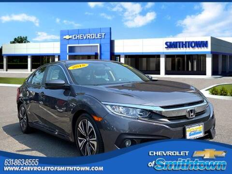 2018 Honda Civic for sale at CHEVROLET OF SMITHTOWN in Saint James NY