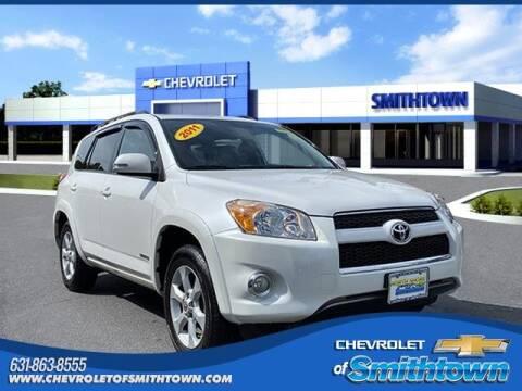 2011 Toyota RAV4 for sale at CHEVROLET OF SMITHTOWN in Saint James NY