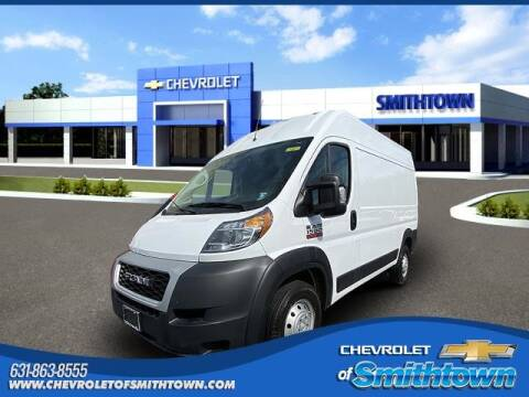 2019 RAM ProMaster Cargo for sale at CHEVROLET OF SMITHTOWN in Saint James NY