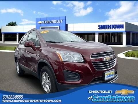 2016 Chevrolet Trax for sale at CHEVROLET OF SMITHTOWN in Saint James NY