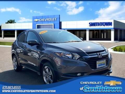 2016 Honda HR-V for sale at CHEVROLET OF SMITHTOWN in Saint James NY