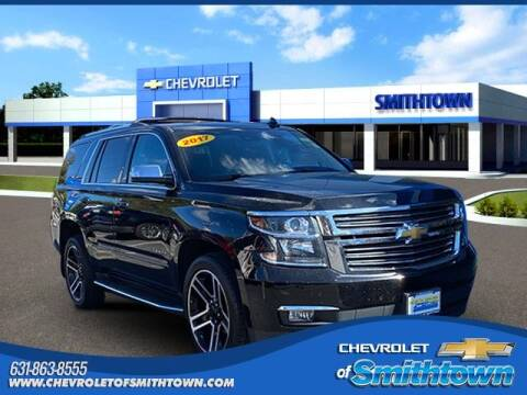 2017 Chevrolet Tahoe for sale at CHEVROLET OF SMITHTOWN in Saint James NY
