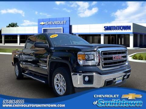 2015 GMC Sierra 1500 for sale at CHEVROLET OF SMITHTOWN in Saint James NY