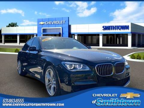 2014 BMW 7 Series for sale at CHEVROLET OF SMITHTOWN in Saint James NY