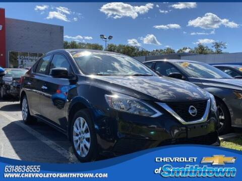 2016 Nissan Sentra for sale at CHEVROLET OF SMITHTOWN in Saint James NY