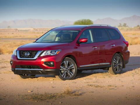 2017 Nissan Pathfinder for sale at CHEVROLET OF SMITHTOWN in Saint James NY