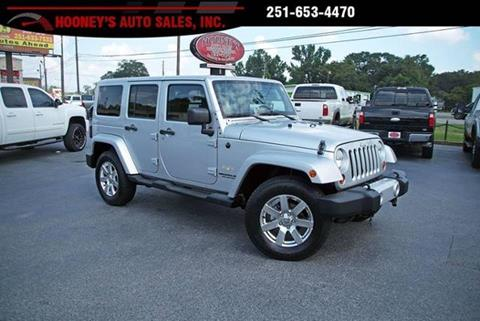 2012 Jeep Wrangler Unlimited for sale in Theodore, AL