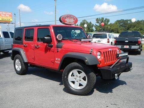 2008 Jeep Wrangler Unlimited for sale in Theodore, AL