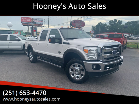 2016 Ford F-250 Super Duty for sale at Hooney's Auto Sales in Theodore AL