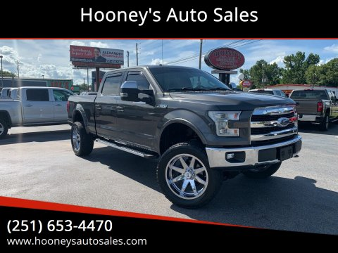 2016 Ford F-150 for sale at Hooney's Auto Sales in Theodore AL