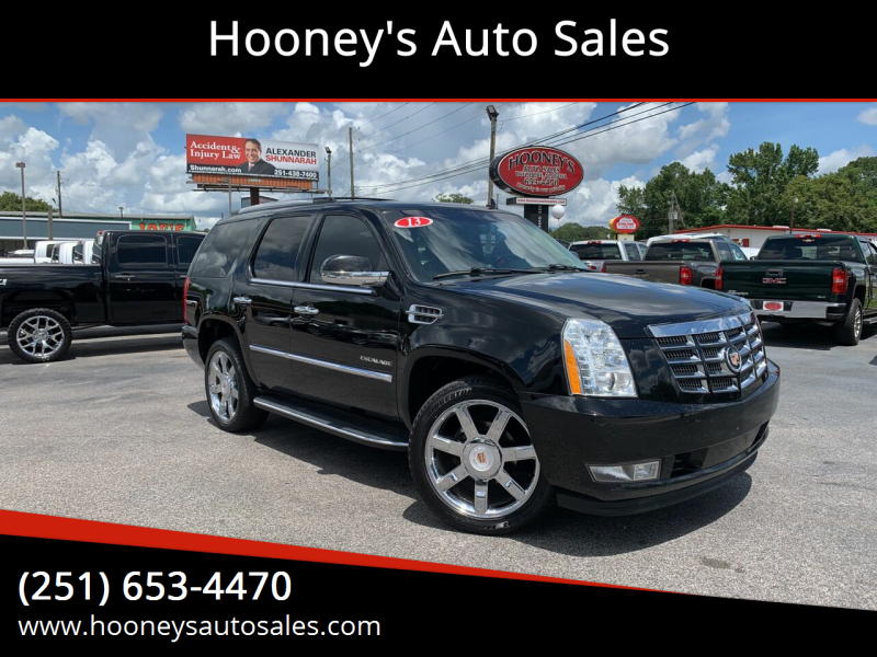 2013 Cadillac Escalade for sale at Hooney's Auto Sales in Theodore AL