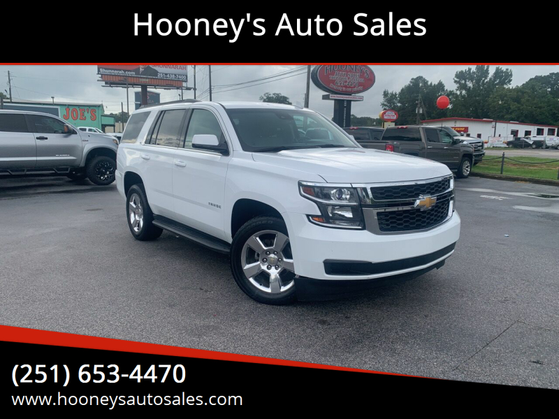 2016 Chevrolet Tahoe for sale at Hooney's Auto Sales in Theodore AL