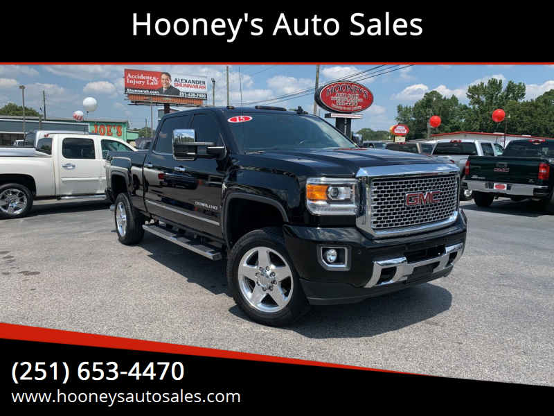 2015 GMC Sierra 2500HD for sale at Hooney's Auto Sales in Theodore AL