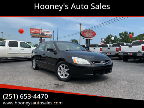 2003 Honda Accord for sale at Hooney's Auto Sales in Theodore AL