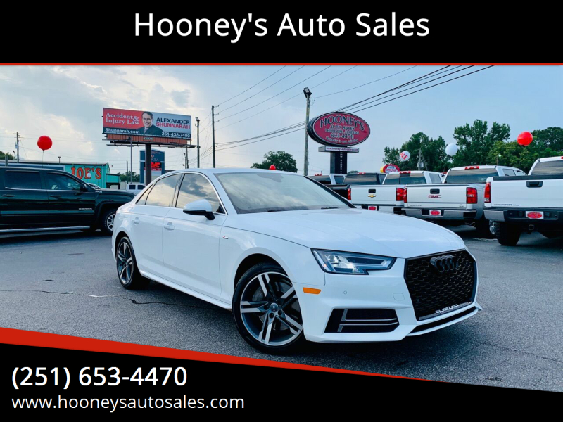 2017 Audi A4 for sale at Hooney's Auto Sales in Theodore AL