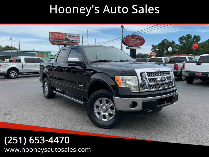 2011 Ford F-150 for sale at Hooney's Auto Sales in Theodore AL