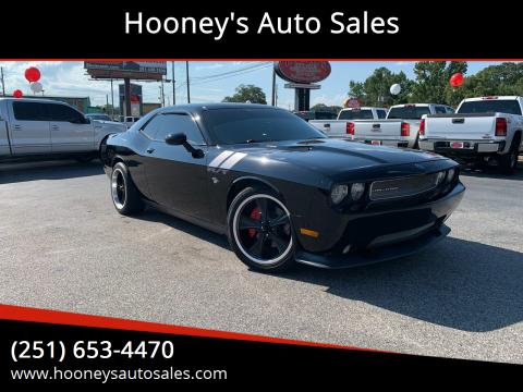 2012 Dodge Challenger for sale at Hooney's Auto Sales in Theodore AL