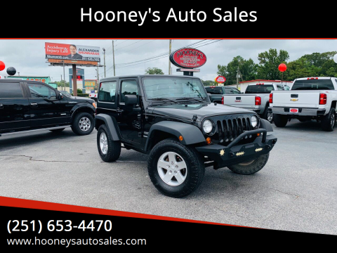 2012 Jeep Wrangler for sale at Hooney's Auto Sales in Theodore AL
