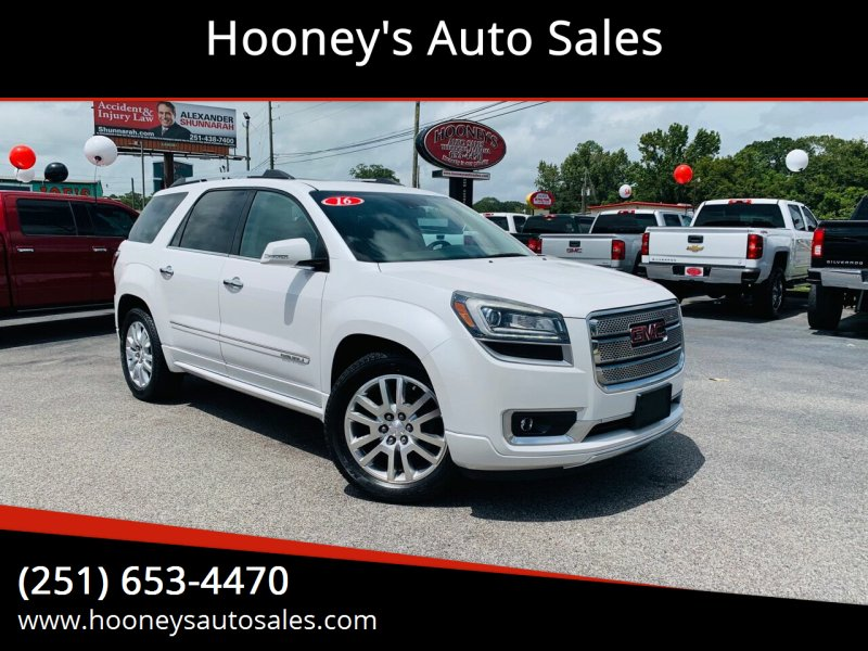 2016 GMC Acadia for sale at Hooney's Auto Sales in Theodore AL
