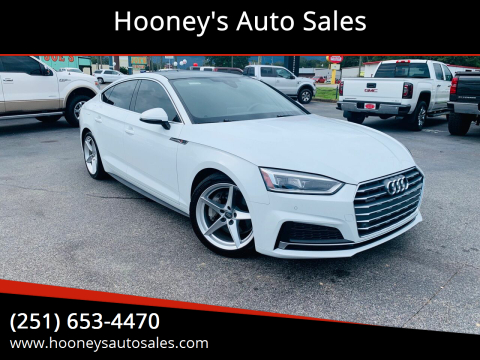 2018 Audi A5 Sportback for sale at Hooney's Auto Sales in Theodore AL