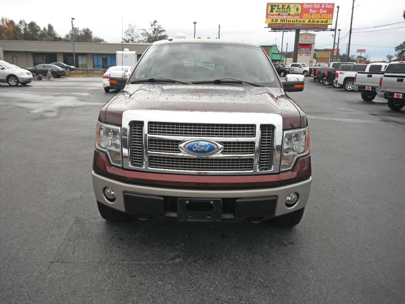 2009 Ford F-150 4x4 King Ranch 4dr SuperCrew Styleside 5.5 ft. SB - Theodore AL