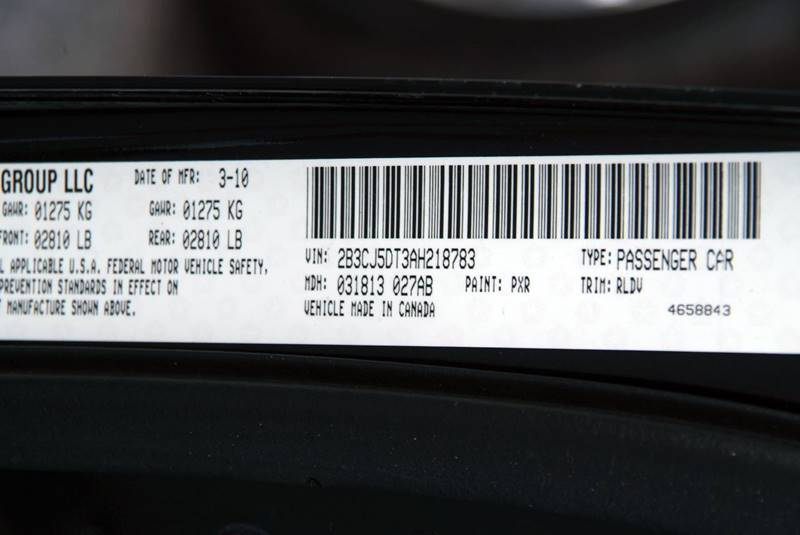 2010 Dodge Challenger R/T 2dr Coupe - Theodore AL