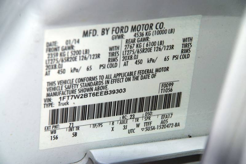 2014 Ford F-250 Super Duty 4x4 Lariat 4dr Crew Cab 6.8 ft. SB Pickup - Theodore AL