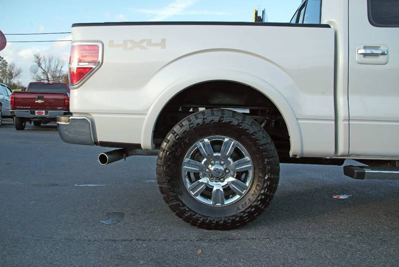 2012 Ford F-150 4x4 Lariat 4dr SuperCrew Styleside 5.5 ft. SB - Theodore AL