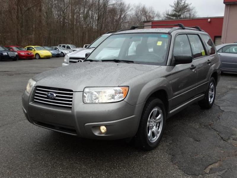 2006 subaru forester awd 2 5 x 4dr wagon w manual in taunton ma rh loftusautocity com 2006 subaru forester service manual pdf 2006 subaru forester manual transmission fluid
