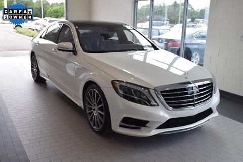 2015 Mercedes-Benz S-Class for sale in Toledo, OH