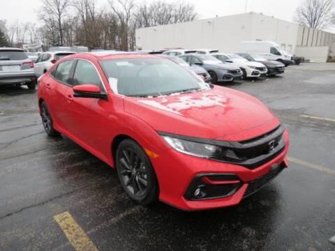 2020 Honda Civic EX for sale at BROWN  HONDA - BROWN HONDA in Toledo OH