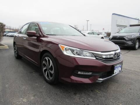 2017 Honda Accord EX-L for sale at BROWN  HONDA - BROWN HONDA in Toledo OH