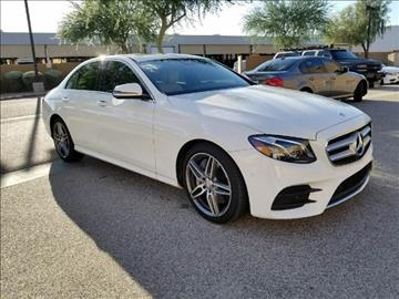 2017 Mercedes-Benz E-Class for sale in Scottsdale, AZ