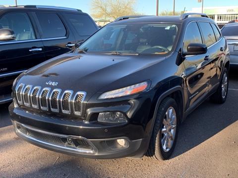 2015 Jeep Cherokee for sale in Scottsdale, AZ