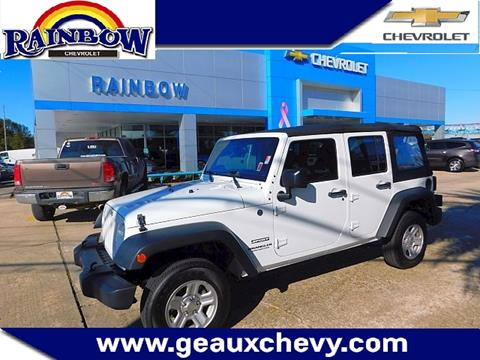 2015 Jeep Wrangler Unlimited for sale in Laplace LA