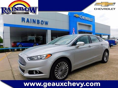 2016 Ford Fusion for sale in Laplace LA