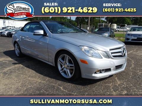 2011 Mercedes-Benz E-Class for sale in Collins, MS