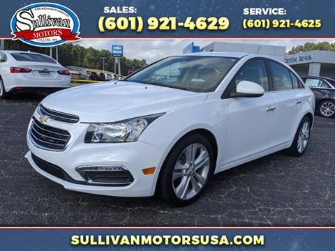 2016 Chevrolet Cruze Limited for sale in Collins, MS