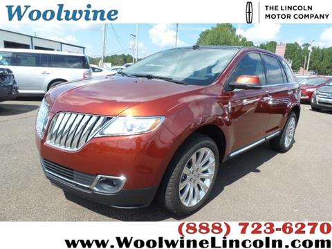 2015 Lincoln MKX for sale in Collins, MS