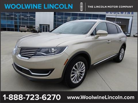 2017 Lincoln MKX for sale in Collins, MS
