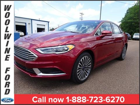 2018 Ford Fusion for sale in Collins, MS