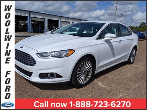2016 Ford Fusion for sale in Collins, MS
