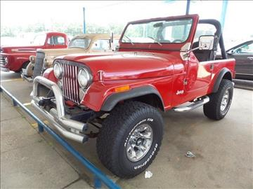 1983 Jeep CJ-7 for sale in Collins, MS