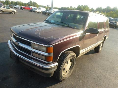1997 Chevrolet Tahoe for sale in Glasgow, KY
