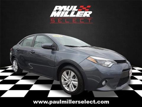 2014 Toyota Corolla for sale in Parsippany, NJ