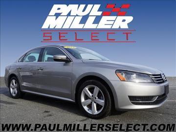 2013 Volkswagen Passat for sale in Parsippany, NJ