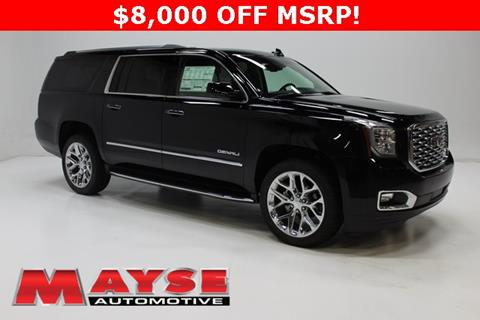 Gmc yukon xl for sale in missouri for Mayse motors aurora mo