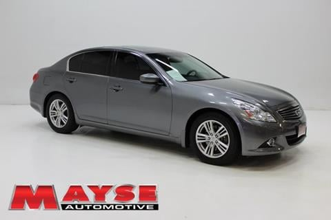 Infiniti g37 for sale in missouri for Mayse motors aurora mo