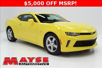 2017 chevrolet camaro for sale for Mayse motors aurora mo